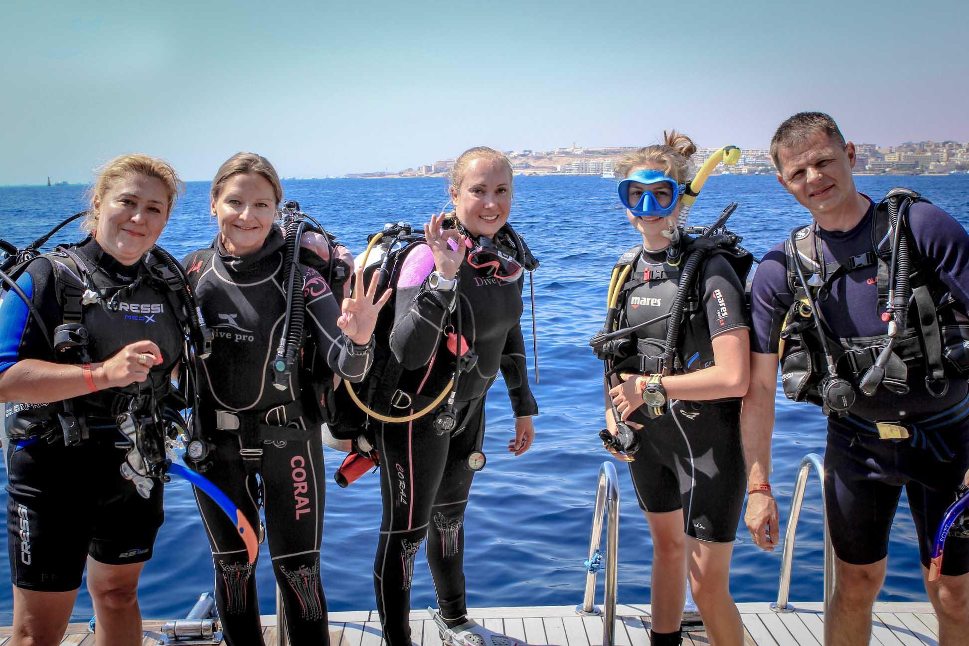 Spécialisation Eau profonde (Deep)Deep Dive 2 Jours (4 plongées)