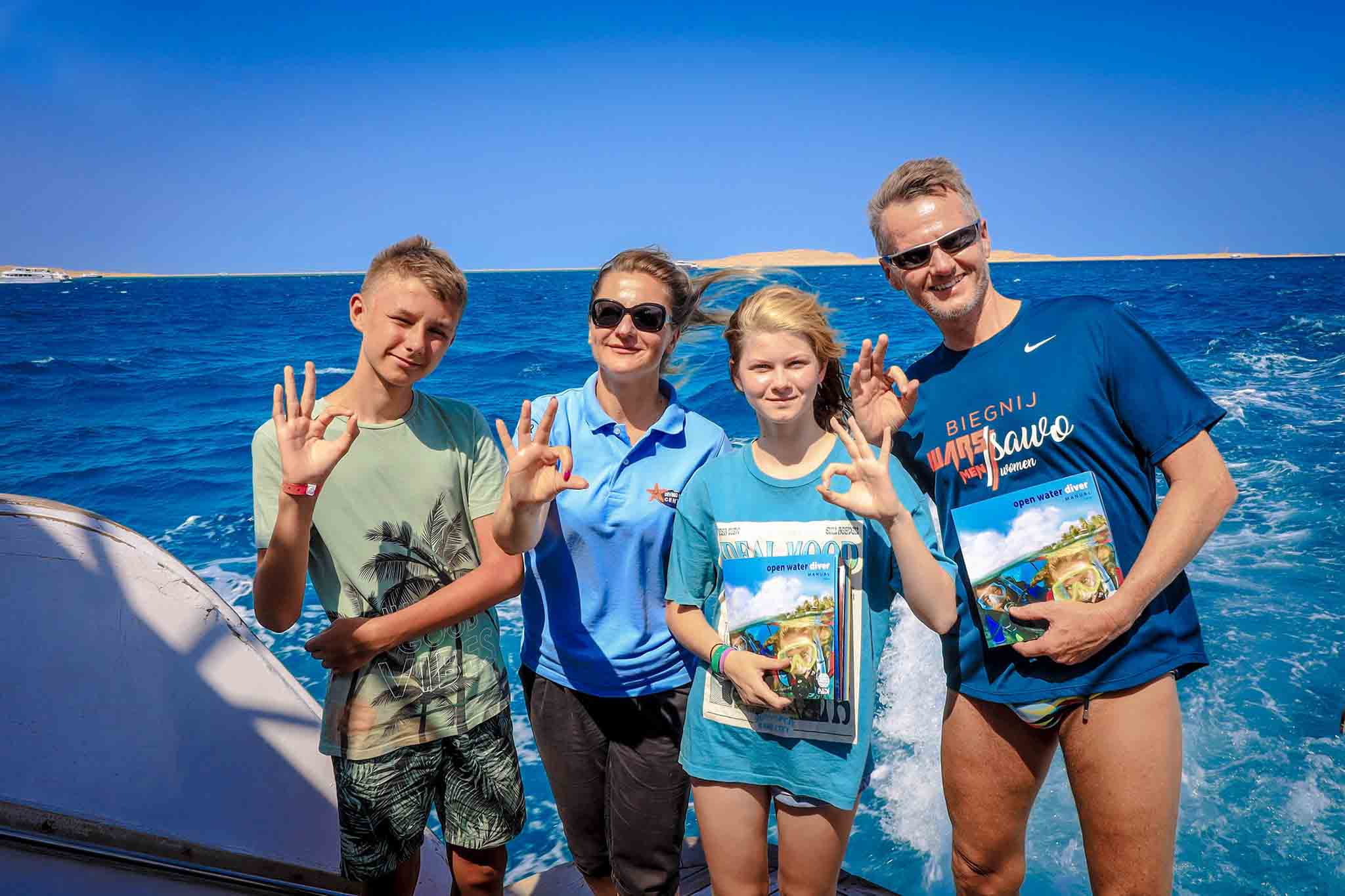 Junior Open Water course 4 Day with Equipment & Manual and Certification 340 Euro